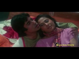 Jane Kaise Kab Kahan Iqrar Ho Gaya - Kishore Kumar, Lata Mangeshkar - Shakti 1982 Songs - Amitabh