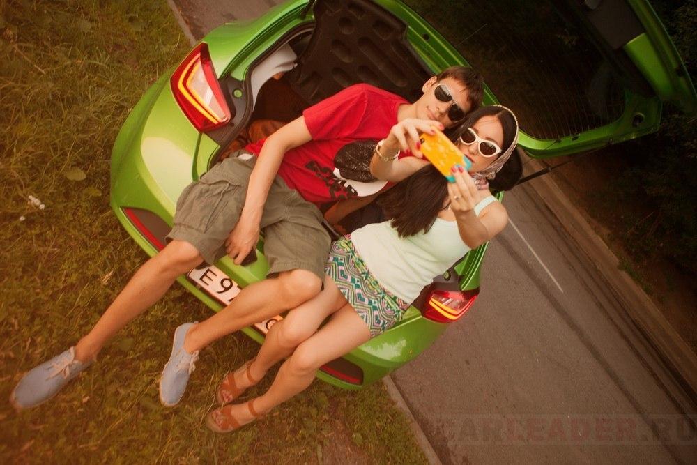 Диджей Басты и Seat Ibiza 2013