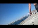 Пляж Хрусталка. Кто загорает, кто купается