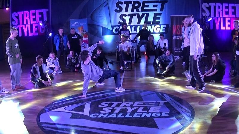 Street Style Challenge Battle 2019 - Hip-hop PRO 1 vs 1 - 1/2 FINAL