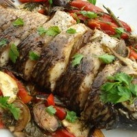 рыба сазан запеченная в духовке