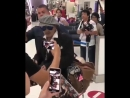 Johnny Depp at Narita international airport