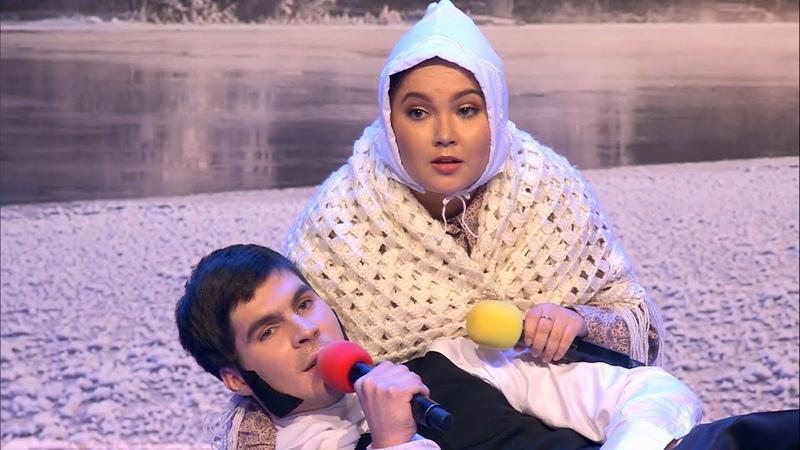 Команда КВН показала пародию на бой Нурмагомедова и Макгрегора