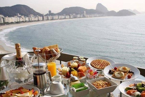 Завтрак в Рио-де-Жанейро, Бразилия