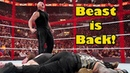 Brock Lesnar Returns and creates chaos: WWE Hell In A Cell 16th September 2018 Highlights