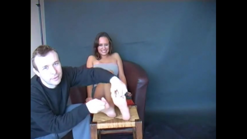 Coralies Feet Gets Tickled