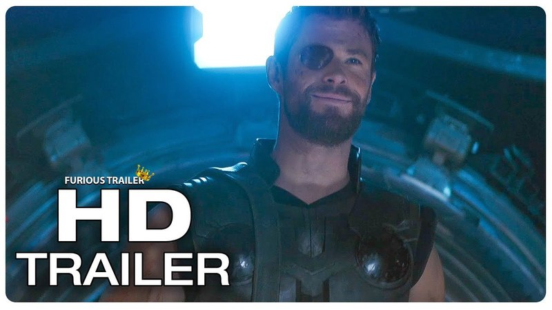 AVENGERS INFINITY WAR - Star Lord Imitates Thors Voice TV-Spot
