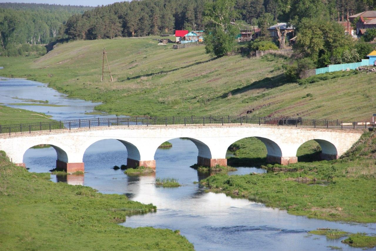 Каменный мост крупным планом. Хорошо видны все пролёты. (04.07.2014)