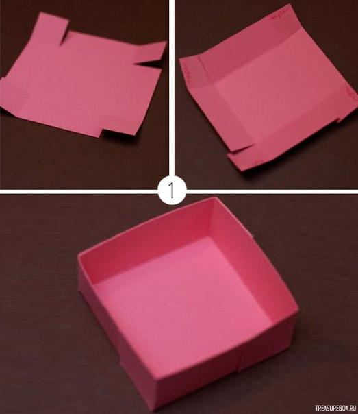 Сделать красивую коробку пошаговая