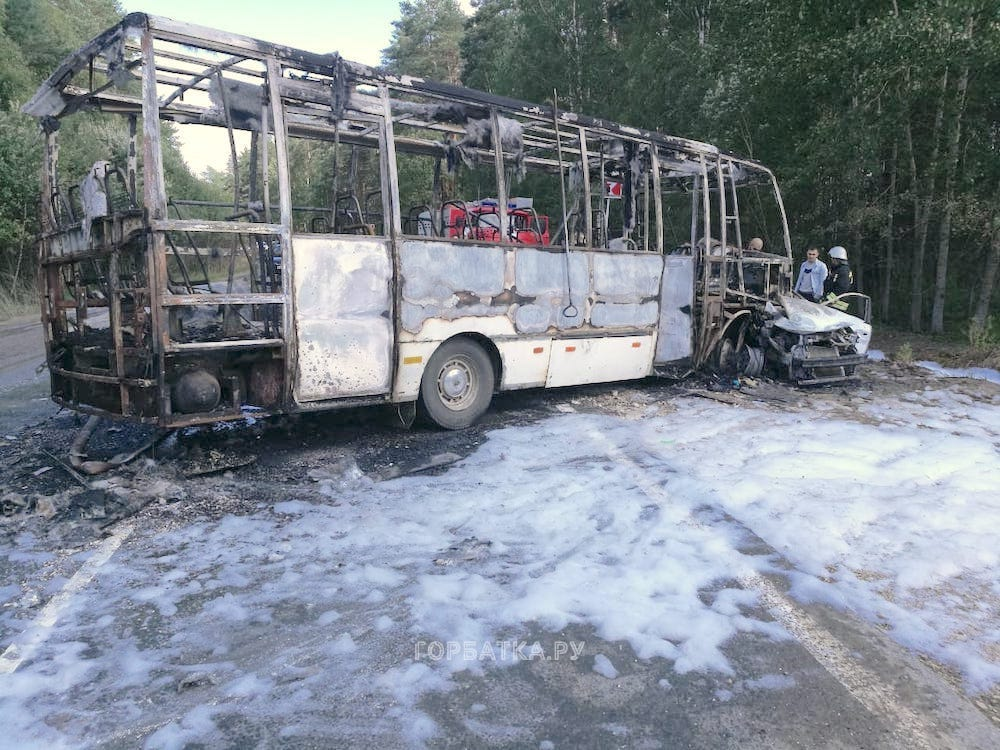 Авария на дороге «Владимир-Муром»(18+)