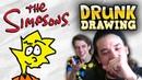DRUNK DRAWING SIMPSONS