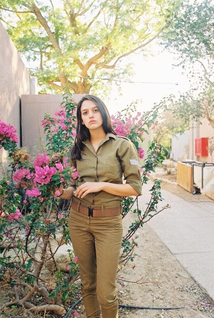 Девочки израильской армии.