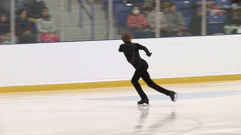 Kevin REYNOLDS CAN Free Skate Autumn Classic International 2018