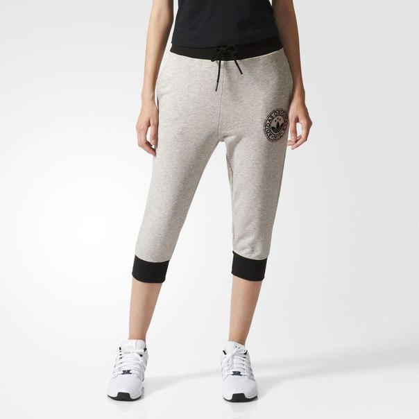 Укороченные брюки Trefoil