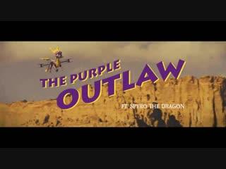 Spyro - i would totally watch this movie, i love westerns #spyrotosnoop #spyrodrone
