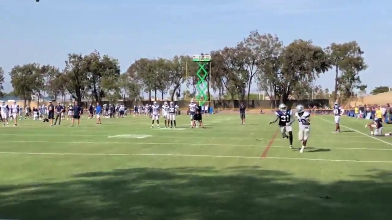 Tavon vs Byron Round 4 Another angle CowboysCamp Day 6