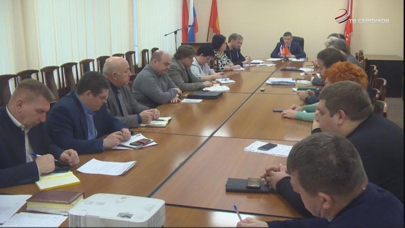 Коммунальные службы в Серпухове подготовят «дорожную» карту» по снижению долгов перед ресурсниками