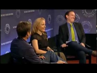 New York Comic Con Paley Center X-Files Q&A with Gillian Anderson and David Duchovny  Part 4
