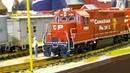 MEGA MODEL TRAINS, RC STEAM LOCOMOTIVES, RAILROAD RAILWAY FUN!! RC RIO GRANDE TRAIN