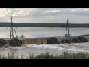 Прорыв техводы дамбы на р.Ирелях в Якутии. 19.08.18