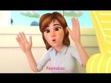Peek A Boo Song - ABCkidTV Nursery Rhymes Kids Songs