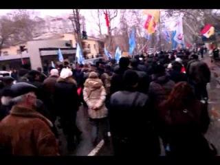 Одесса - Марш в защиту города от Майданутых!!! 8.01.2014...