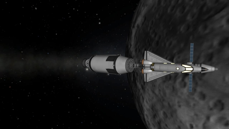Миссия Orbit-1. Часть 2 - облёт.