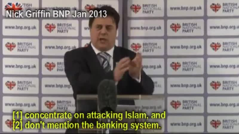 Jews tried to bribe BNP to ignore Jew paper money, attack Islam. Jews set up EDL, fake sites
