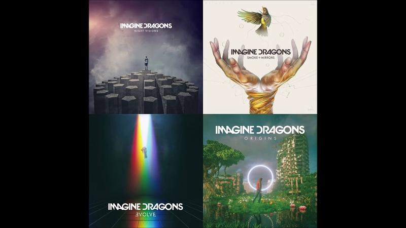 Imagine Dragons - The Megamix 3 (Mashup by InanimateMashups)