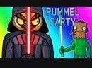 [VanossGaming] Pummel Party Funny Moments - Darth Vanoss Climbs the Ranks!