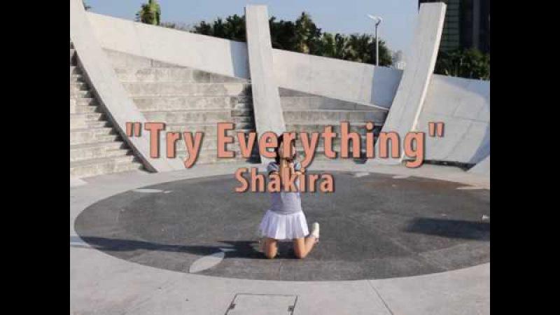 Try Everything (Shakira) Easy Steps