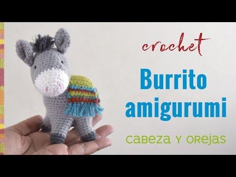 Burrito sabanero amigurumi (crochet) Parte 1 / Tejiendo Perú