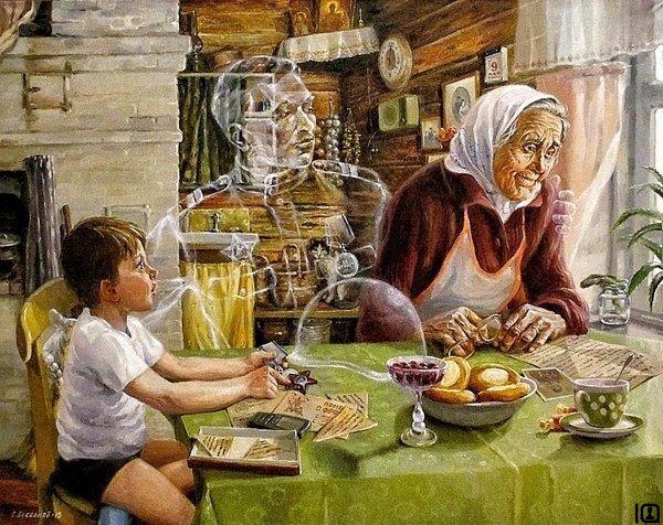 Картина художника Сергея Бессонова