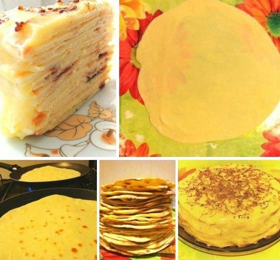 Торт с творожным сыром рецепт пошагово в домашних