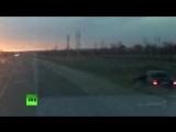 Пьяный водитель 100 метров вёз застрявшего в окне инспектора ДПС