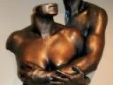 Naked Art...live models nude in sculpture