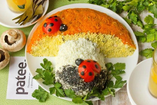вкусные салаты с фото вкусные