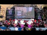 Odorisamurai 2016 Burning (Танцующие самураи - Пылающий) (Фестиваль Васеда)