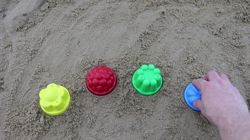 Learn Colors for Children Sand Molds romashka Finger Family Song Nursery Rhymes