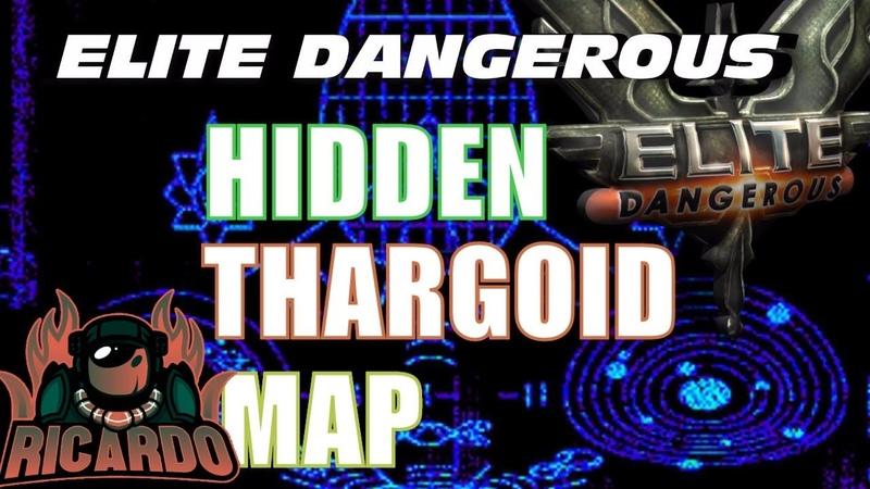 Elite Dangerous Thargoid Hidden Map Decoded ! 🌏