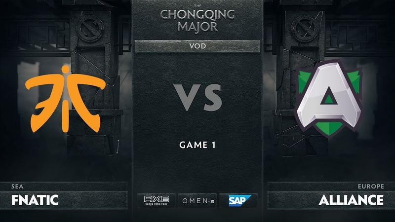 Fnatic vs Alliance - Game 1, Group D - The Chongqing Major 2019