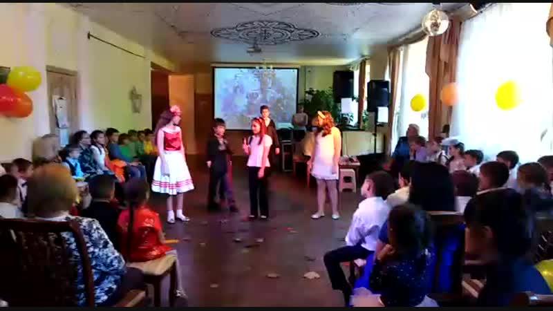День учителя (выступление 5-ого класса)