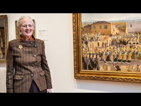 Dronning Margrethe har lånt sit græske favoritmaleri ud