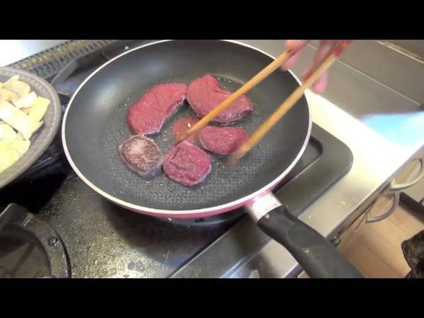 Deer dishes 14 Tongue Yakiniku Hip Steak