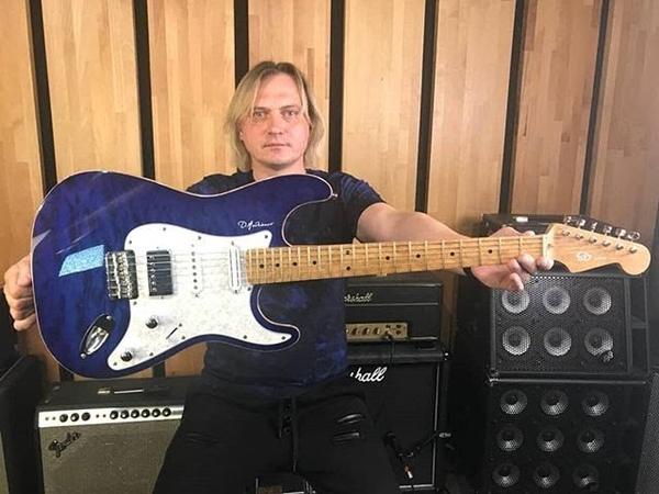 Обзор моей новой гитары - SD guitars Blue Angel