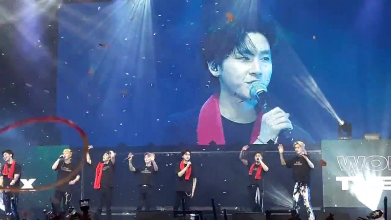 [VK][180620] MONSTA X fancam Ending Stage @ The 2nd World Tour The Connect in Amsterdam