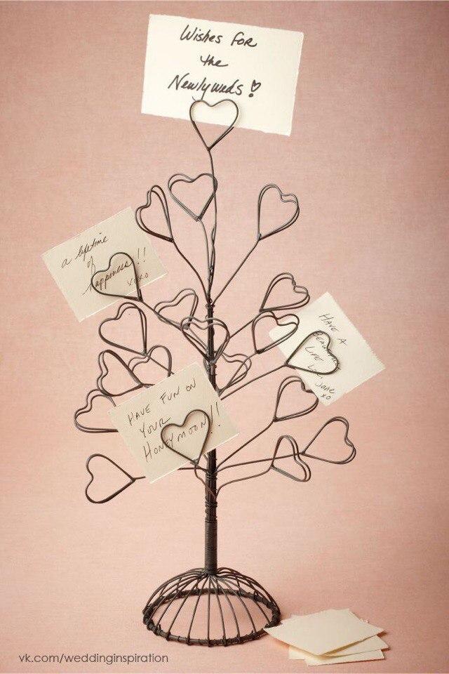 Дерево поздравлений своими руками 59