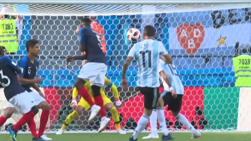 ЧМ 2018 Франция Аргентина 1 8 финала Обзор