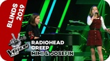 Radiohead - Creep (Mimi &amp Josefin) The Voice Kids 2019 SAT.1