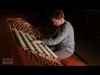Saint-Eustache organ, Thomas Ospital plays Debussys Danse (Nov 2016)